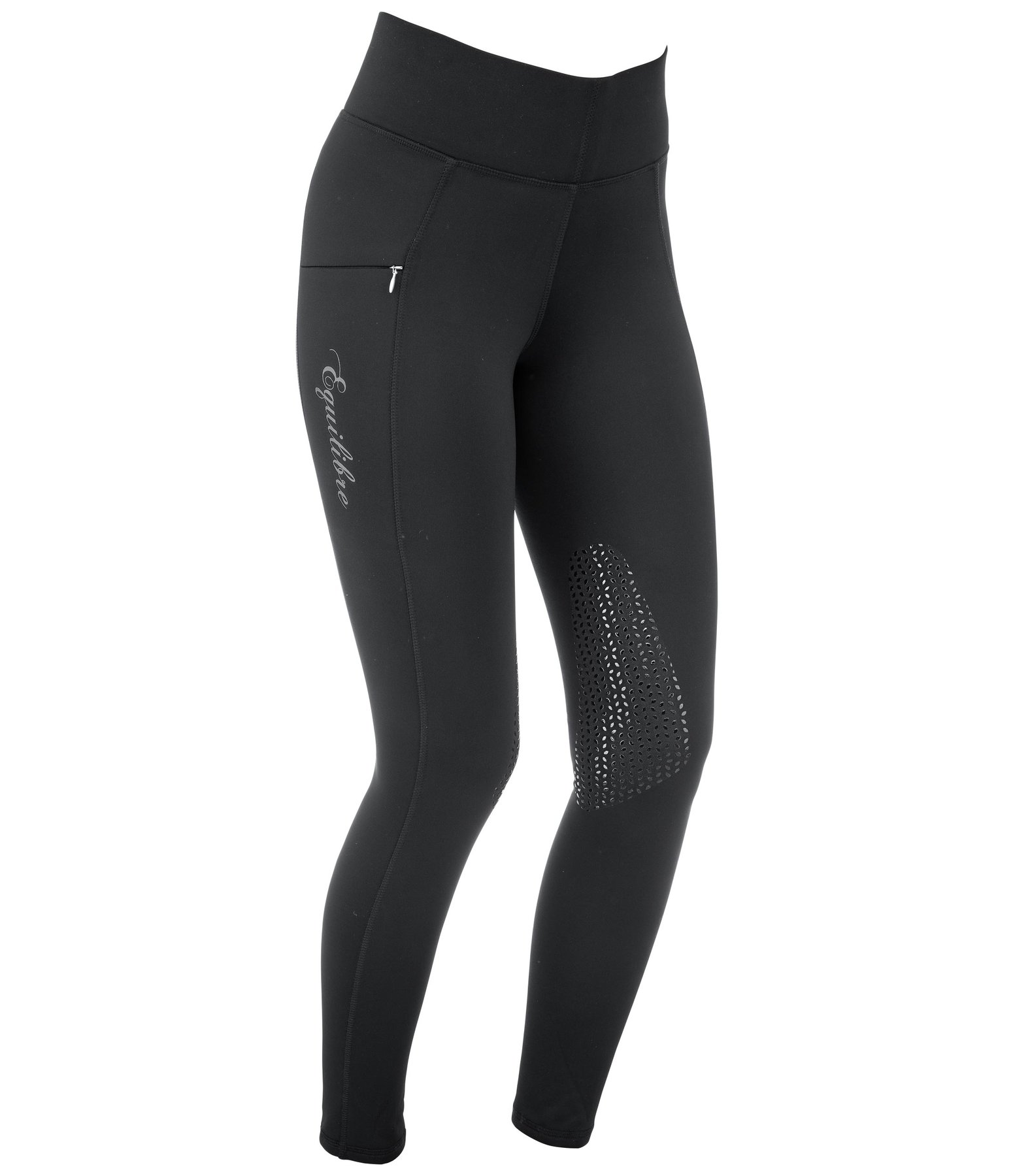 Grip Thermal Knee-Patch Riding Leggings Valerie