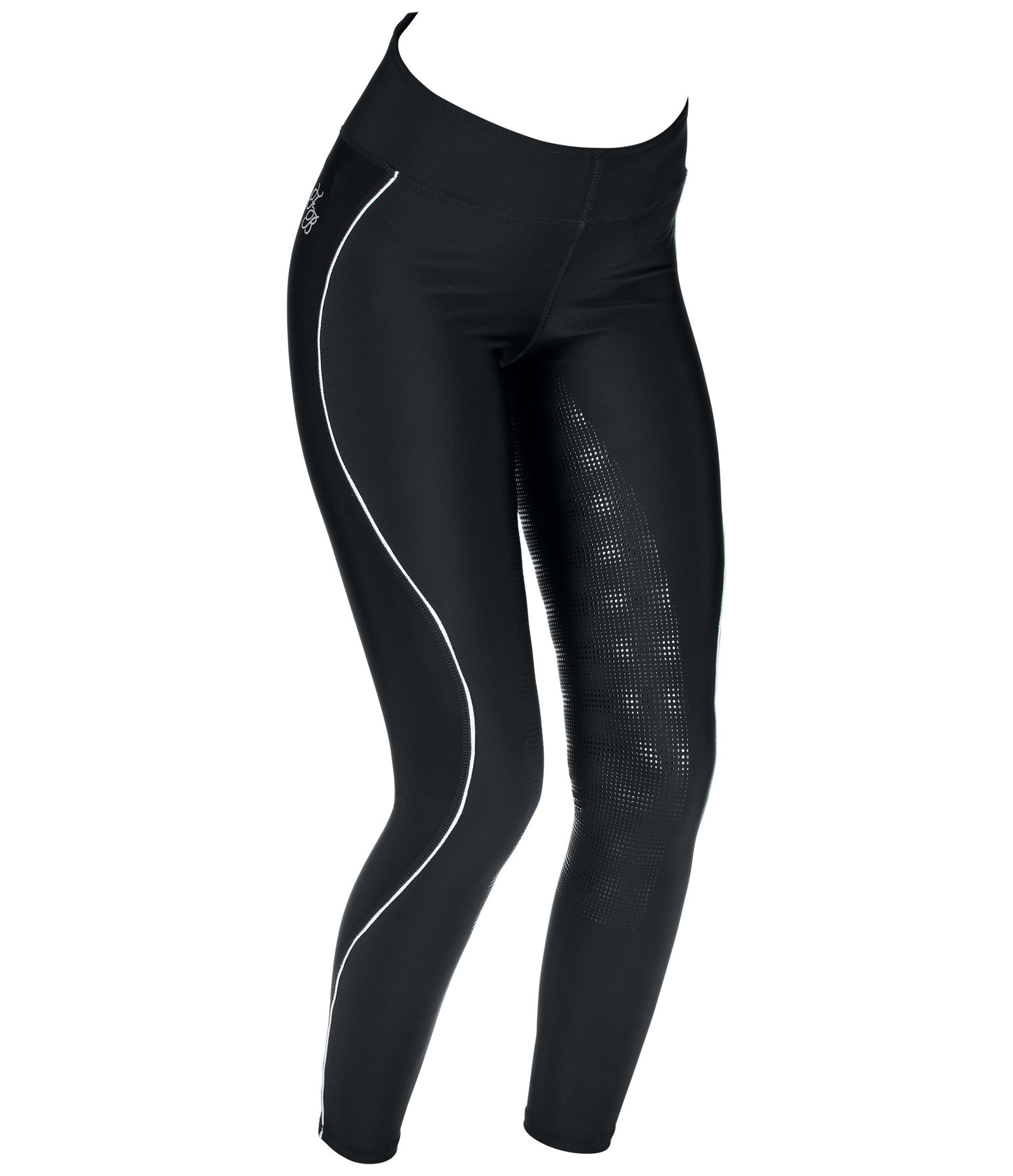 High Waist Grip Full-Seat Riding Leggings Leticia