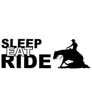 Kramer Sticker Sleep Eat Ride - 182521