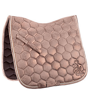 SHOWMASTER Saddle Pad Metallic Love - 210989-DR-KA