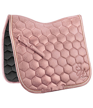SHOWMASTER Saddle Pad Metallic Love - 210989-DR-NU