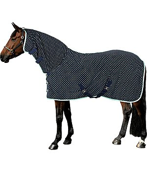 THERMO MASTER Fleece Exercise Rug Dots with Neck Piece - 422155
