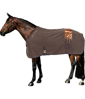 THERMO MASTER Fleece Cooler Rug Rising Sequins - 422172