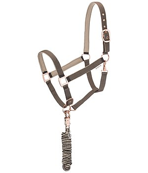 SHOWMASTER Headcollar Set Comfy with Lead Rope - 440272-F-DT