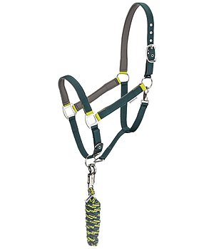 SHOWMASTER Headcollar Set Comfy with Lead Rope - 440272-F-GL