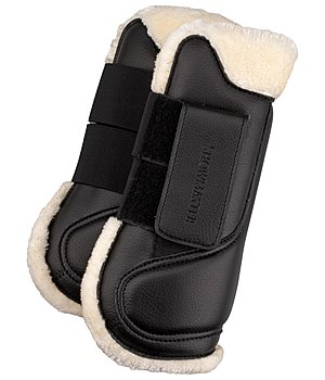 SHOWMASTER Teddy Fleece Tendon Boots - 530575-F-S