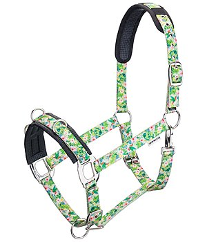 SHOWMASTER Lungeing Headcollar Tropical Flowers - 540178