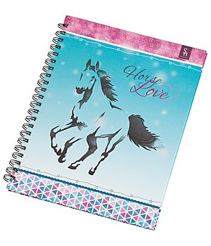 SHOWMASTER Horse Love Spiral-Bound Notepad - 621387