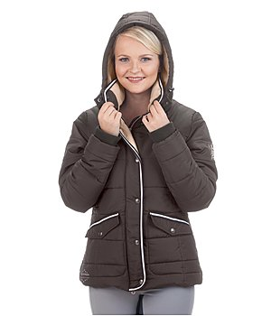 diamond coat quilt farmer riding patch elbow itm fitted quilted ladies jacket womens
