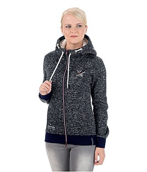 Felix Bühler Hooded Knit Fleece Jacket Merle - 652482
