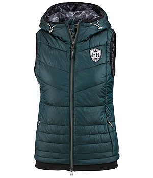 Felix Bühler Hooded Quilted Gilet Alina - 652740-XS-GL