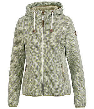 ICEPEAK Icepeak Hooded Knitted Fleece Jacket Adriana - 652908-S-O