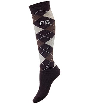 d0e2c297ed03 Merino Mix Knee Socks Argyle - Knee-Highs   Socks - Kramer Equestrian