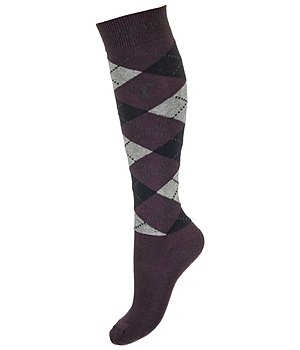 HV POLO Knee Socks Argyle - 750636-1-PL