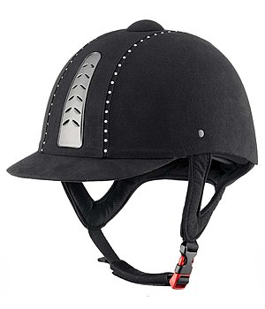 KNIGHTSBRIDGE Riding Hat Air Crystal - 780158-63/8-S