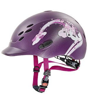 uvex Children's Riding Hat onyxx with Princess Design - 780219-XXS-AU