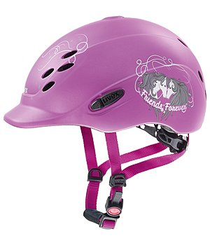 uvex Children's Riding Hat onyxx with Friends II Design - 780235