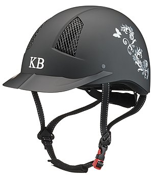 KNIGHTSBRIDGE Riding Hat Evident Butterfly Design - 780241-S-S