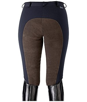 Equilibre Women's Full-Seat Breeches Super-Stretch Two-Tone - 810262-2732-NV
