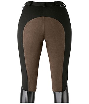 Equilibre Women's Full-Seat Breeches Super-Stretch Two-Tone - 810262-2732-S