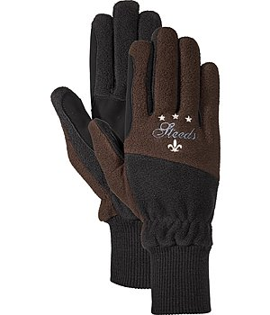 STEEDS Fleece Riding Gloves Lausanne - 870204-XXS-CO