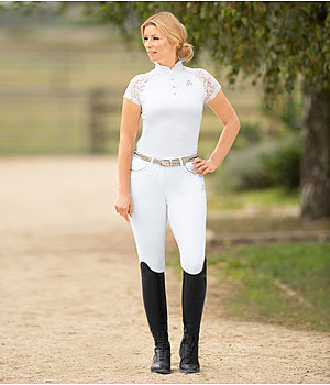 Women's Competition Outfit Jule in White - OF000360
