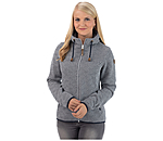 ICEPEAK Icepeak Hooded Knitted Fleece Jacket Adriana - 652908-L-NV - 2