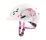 uvex Children's Riding Hat onyxx with Princess Design - 780219-XXS-W