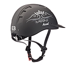 KNIGHTSBRIDGE Riding Hat Accent Crown Design - 780209-S-S - 2