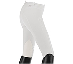 Equilibre Women's Knee-Patch Breeches Pearl - 810277-2732-W - 3