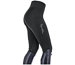Equilibre Grip Thermal Knee-Patch Riding Leggings Valerie - 810579-2732-S - 4