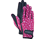 STEEDS Children's Riding Gloves Flowerly - 870306-KXS-BY