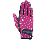 STEEDS Children's Riding Gloves Flowerly - 870306-KXS-BY - 2