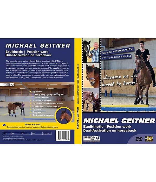 Michael Geitner DVD - Equikinetic - Position work - Dual-Activation - 402406