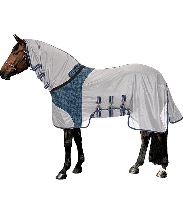 Full Neck Pull-Over Fly Rug Colour Splash Stripy