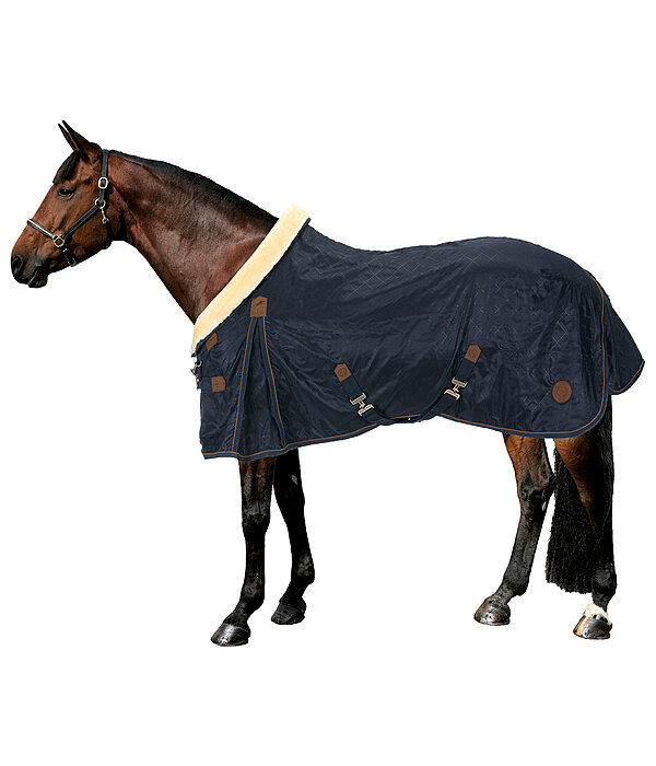 Stable Rug Timeless Elegance with Teddy Fleece Collar