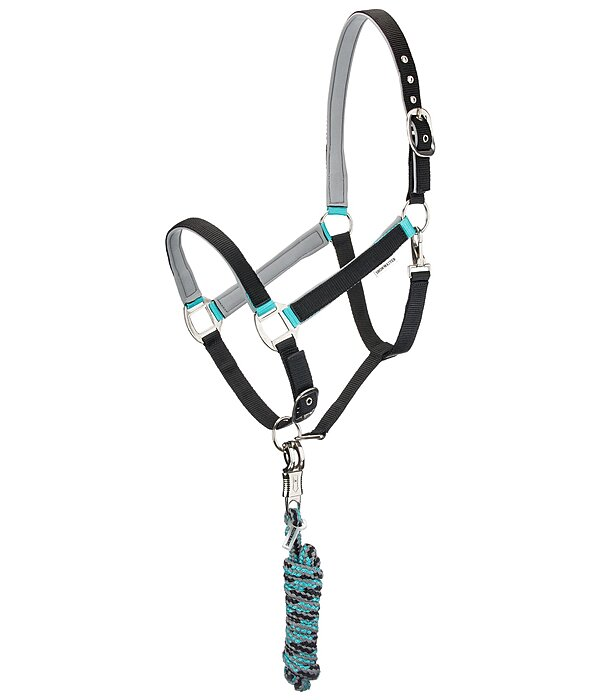 SHOWMASTER Headcollar Set Comfy with Lead Rope - 440272-C-S