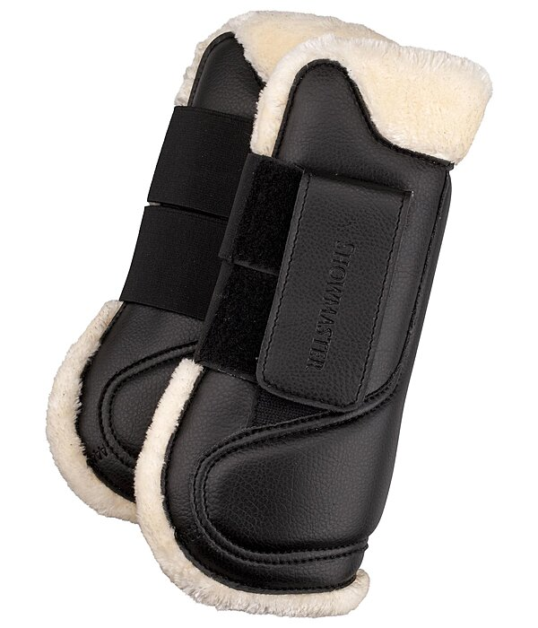 Teddy Fleece Tendon Boots