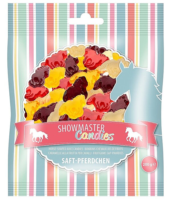 SHOWMASTER Horse-Shaped Juicy Candy - 621130