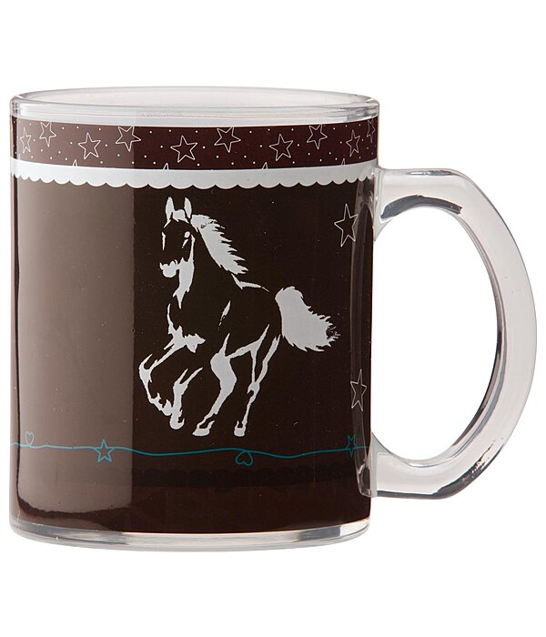 SHOWMASTER Magic Horses Glass Cup - 621381