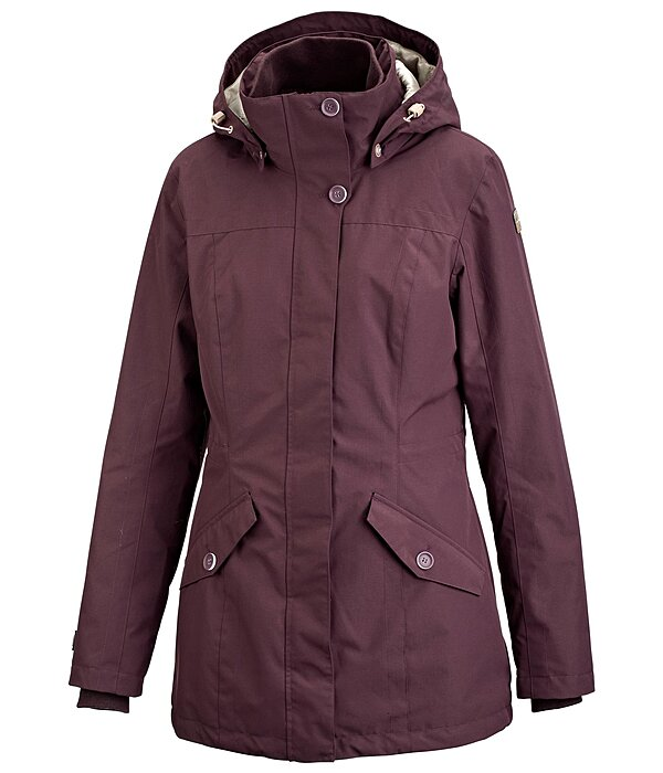 Hooded Functional Riding Coat Tess