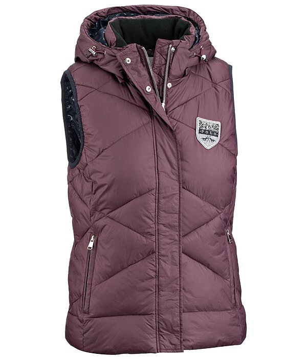 Imitation Down Hooded Gilet Hamilton