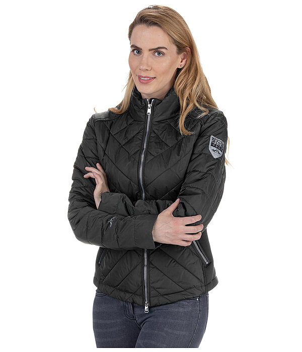 Quilted Combination Jacket Madura