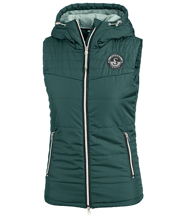 Hooded Quilted Gilet Merle