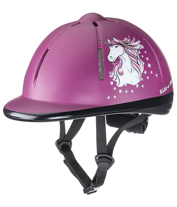 Children's Riding Hat Start Unicorn