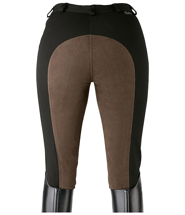 Equilibre Women's Full-Seat Breeches Super-Stretch Two-Tone - 810262-3432-S