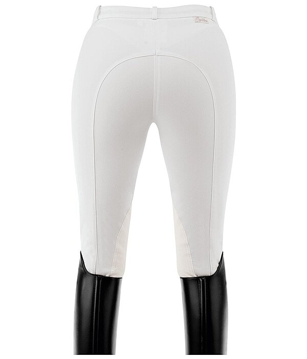 Equilibre Women's Knee-Patch Breeches Pearl - 810277-2732-W