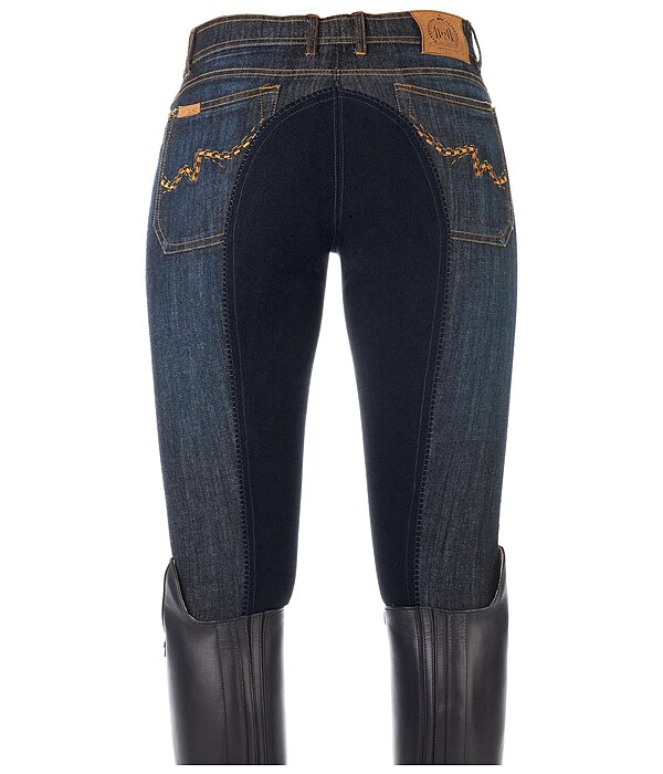 Full-Seat Denim Breeches Denise
