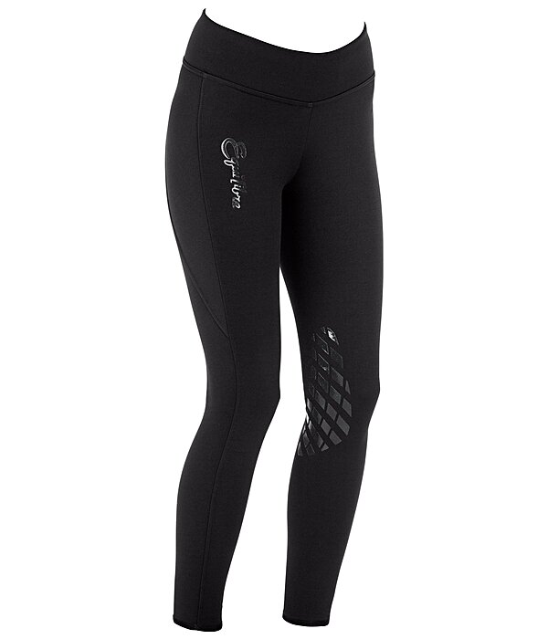 Equilibre Grip Knee-Patch Riding Leggings Performance Stretch - 810510-2732-S