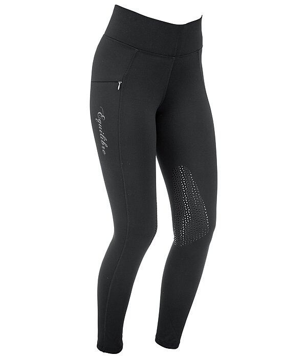 Equilibre Grip Thermal Knee-Patch Riding Leggings Valerie - 810579-2732-S